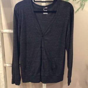 Light weight Charcoal cardigan